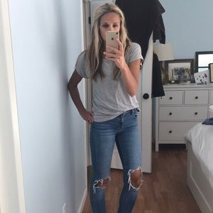 Grey Forever 21 Top